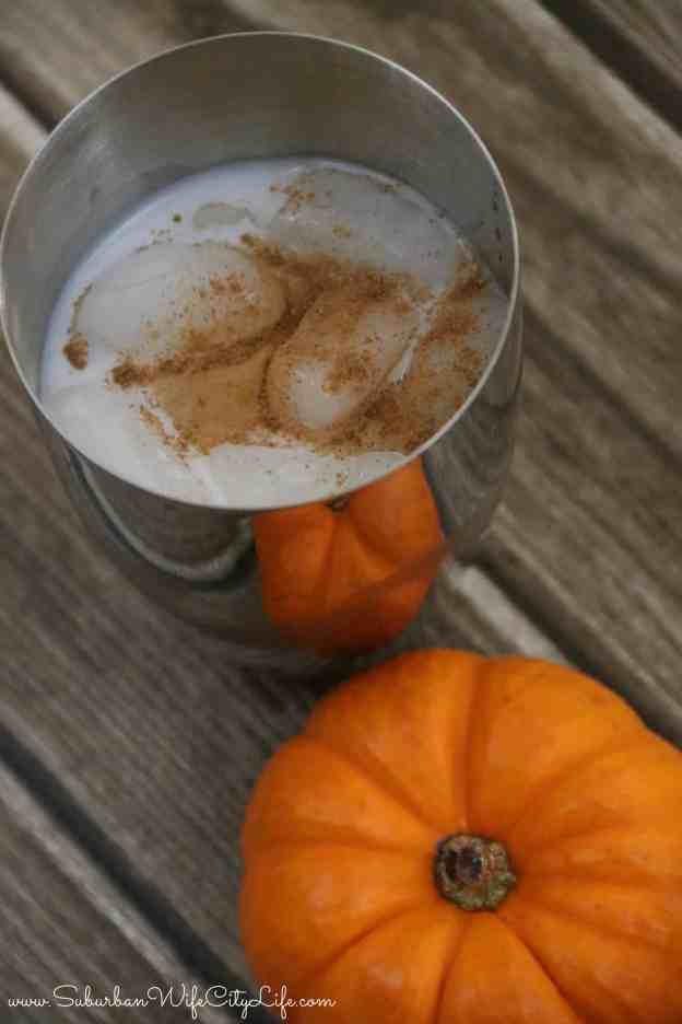 Pumpkin Pie cocktail drink