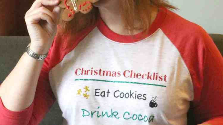 Christmas Checklist Shirt