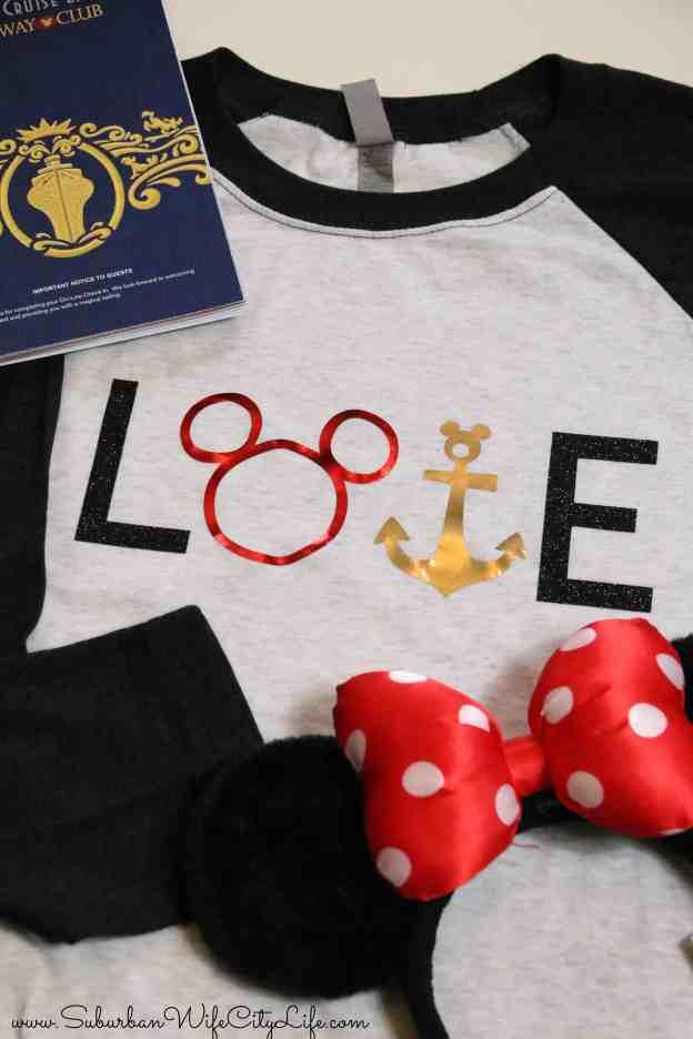 Disney Love shirt #CricutMade