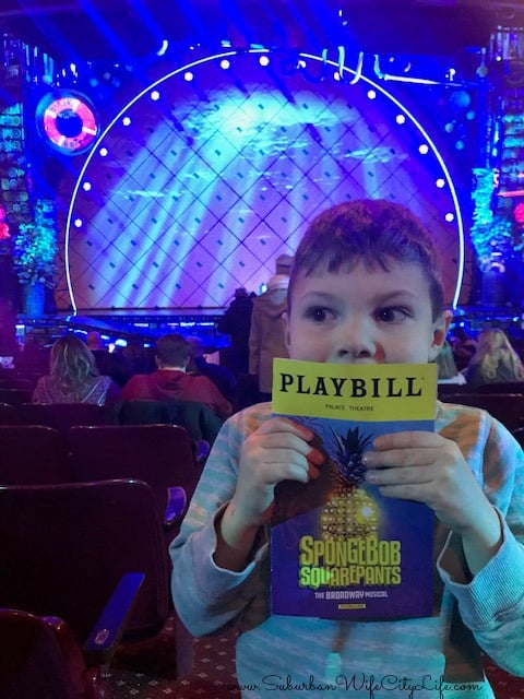 1st Broadway Show Spongebob Squarepants