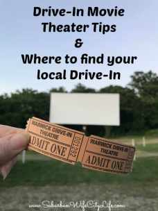 Drive-In Movie Theater Tips