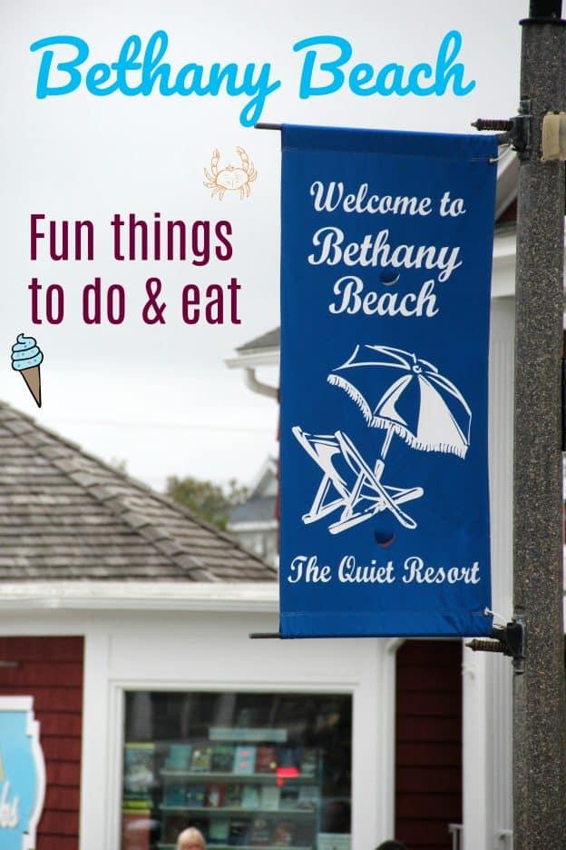 Bethany Beach Fun things to do & eat