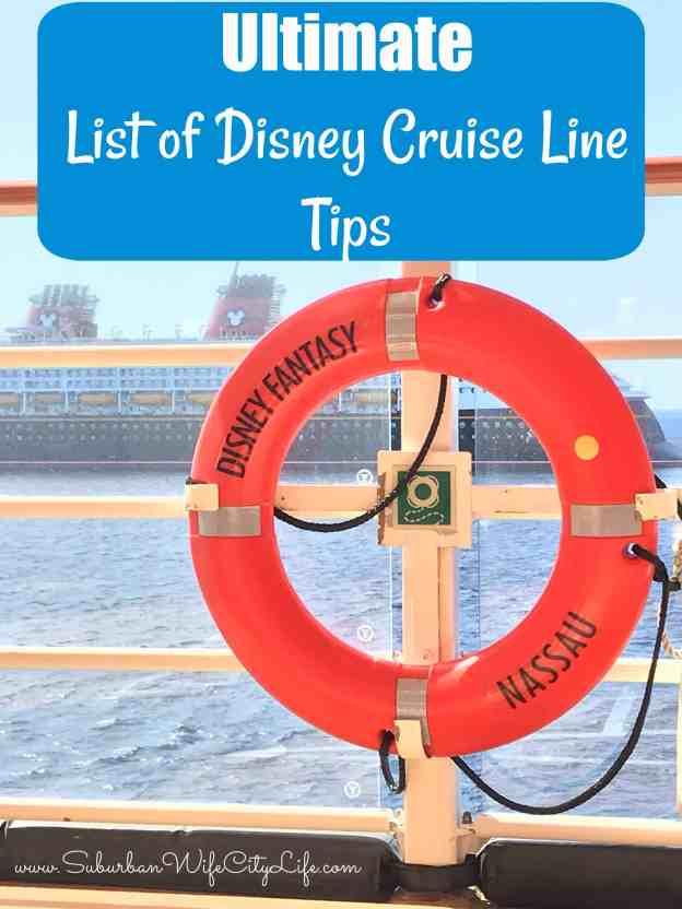 Disney Cruise Line Tips #DisneyCruise