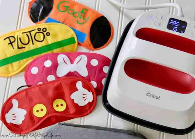 Disney Sleep Mask Cricut Easy Press 2 #ad