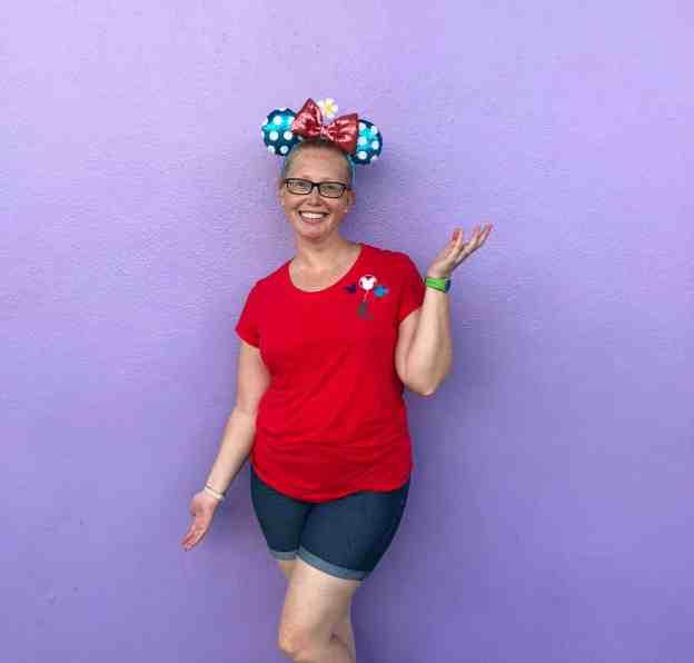 Disney World Purple Wall