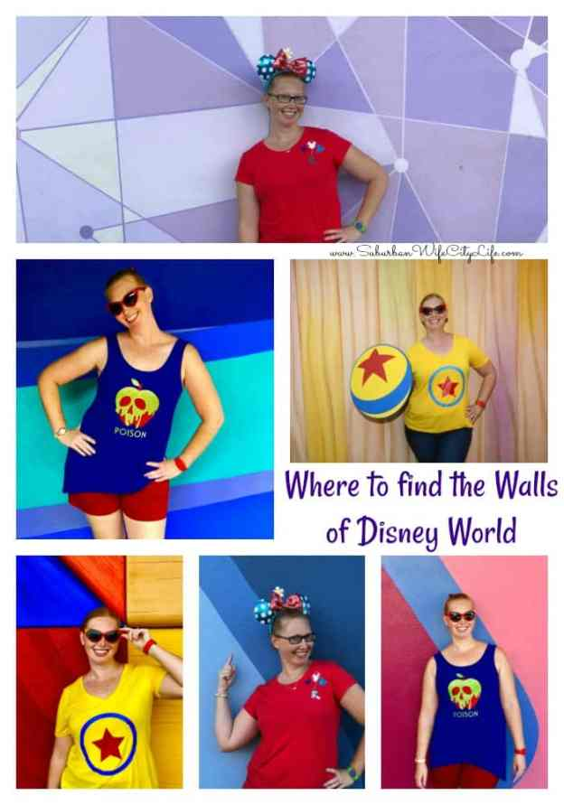 Where to find the Walls of Disney World