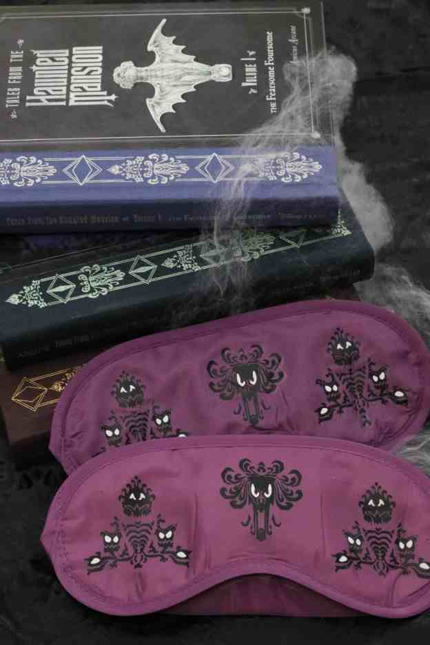 DIY Haunted Mansion Sleep Mask