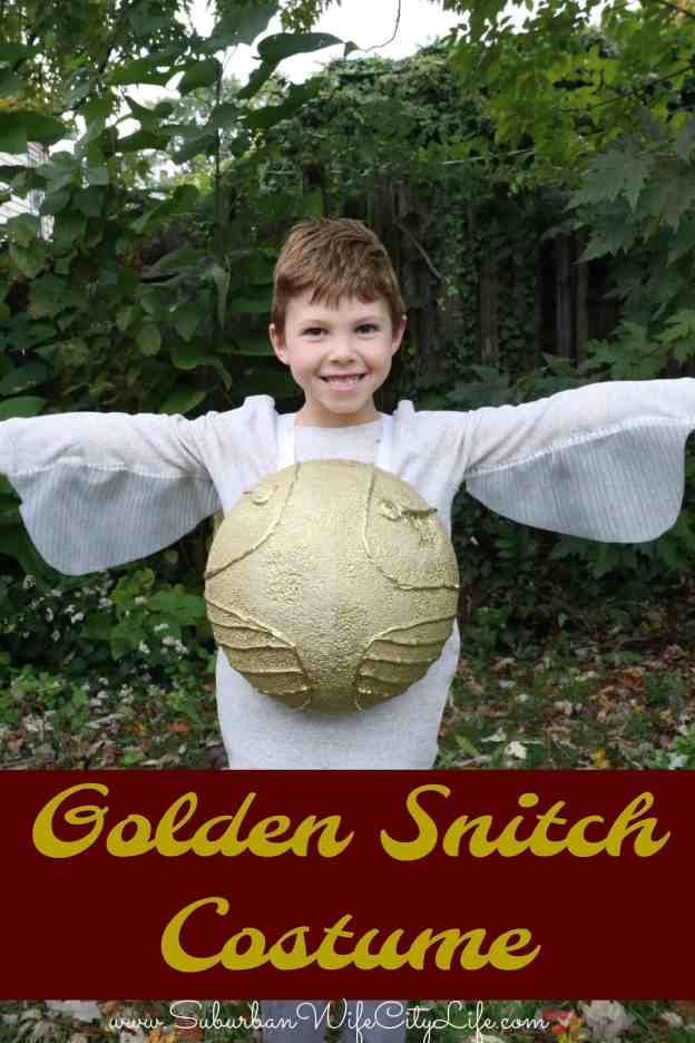 Golden Snitch Costume