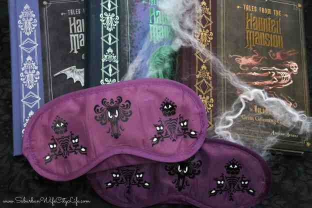 Haunted Mansion Sleep Masks