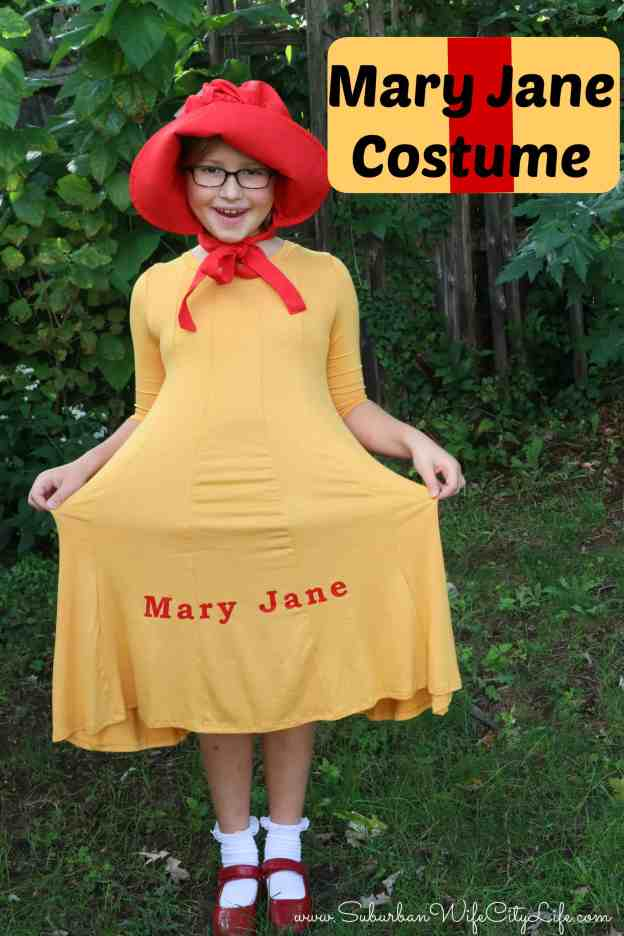 Mary Jane Costume -DIY