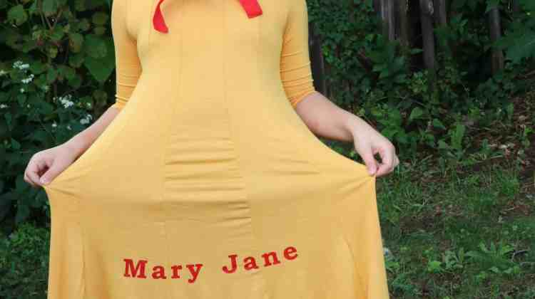 DIY Mary Jane Costume