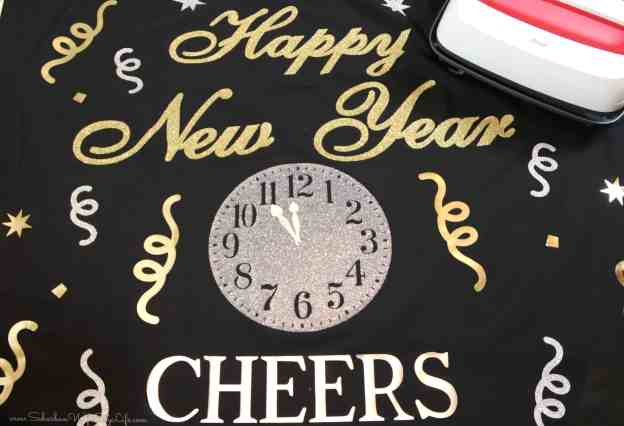 Happy New Year with Cricut EasyPress2