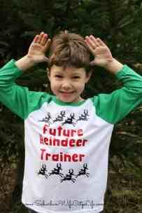 Future Reindeer Trainer Shirt