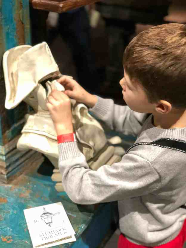 Sherlock Holmes Exhibit Puzzles