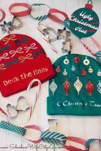 DIY Ugly Christmas Hats