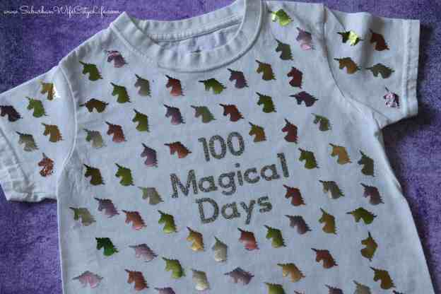 100 magical days unicorn shirt #cricutmade