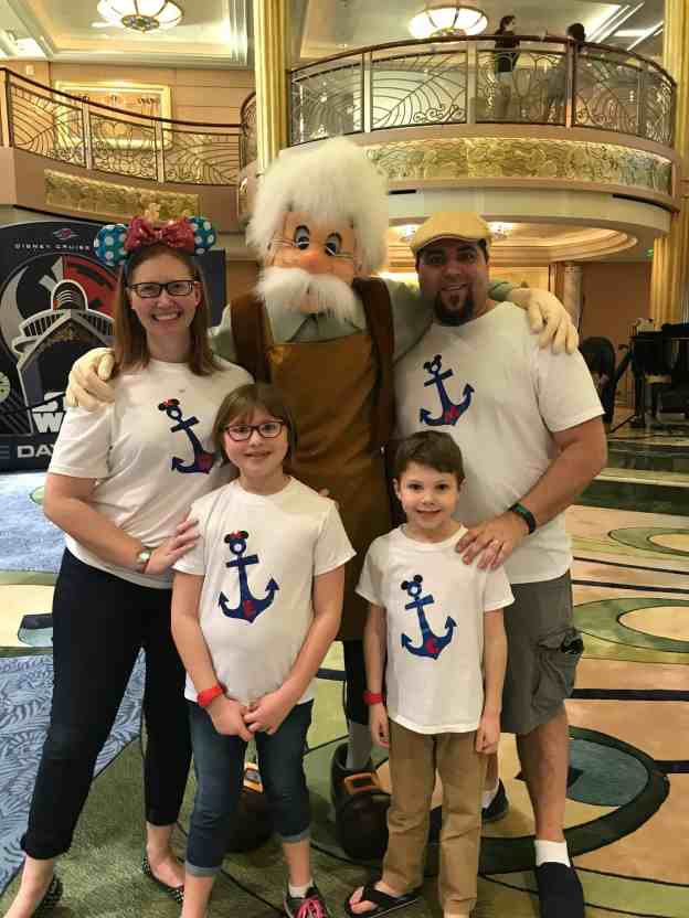 Disney Cruise photos Geppetto