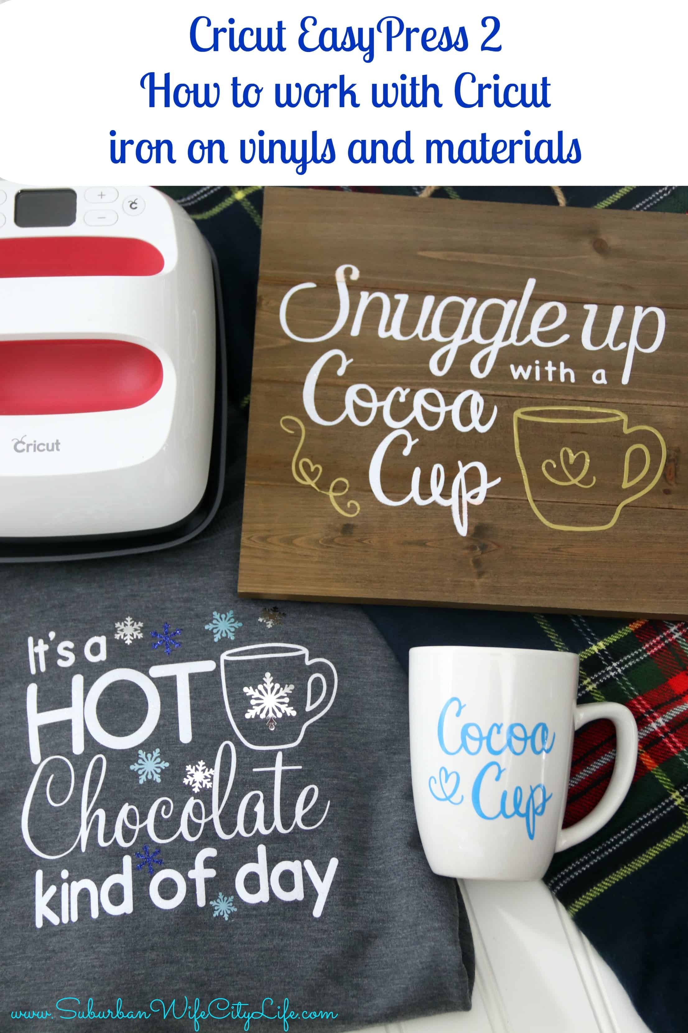 How To Work With Cricut Iron On Vinyls And Materials Easypress2