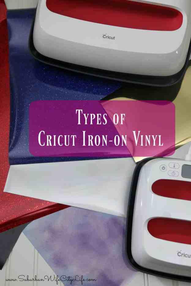Types of Cricut Iron on Vinyl