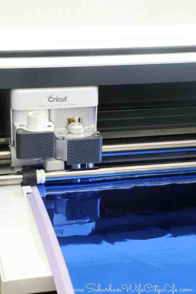 Cutting Vinyl with a Cricut Maker