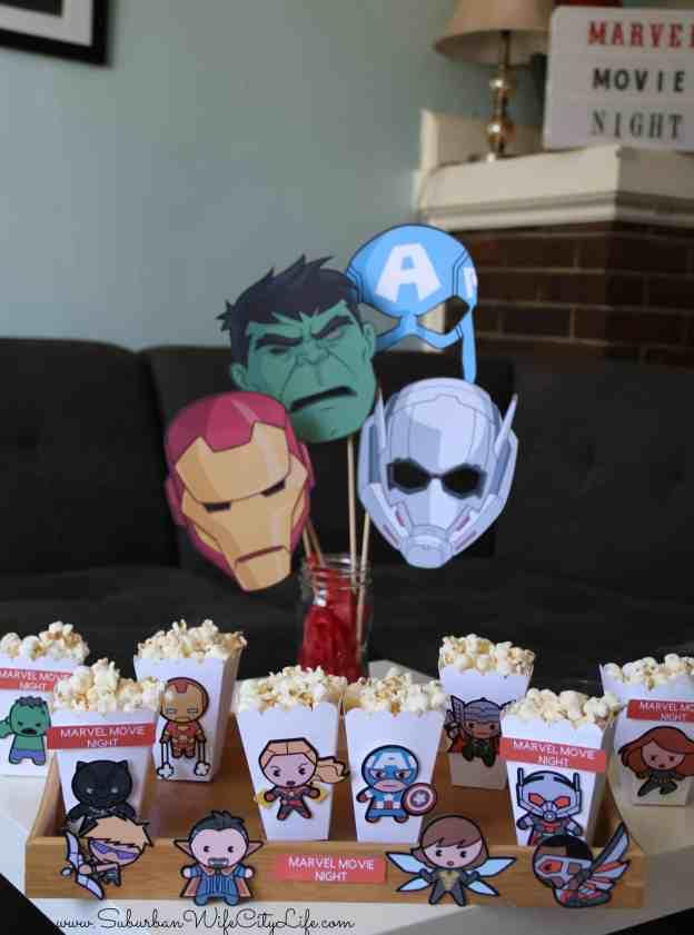 Marvel Movie Night