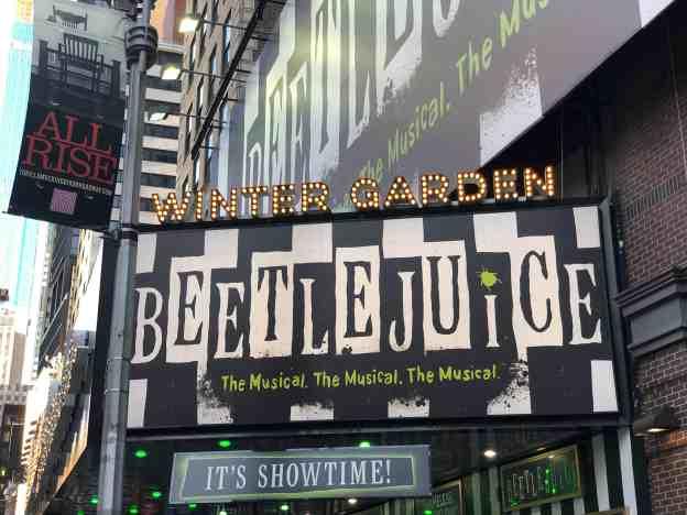 Beetlejuice on Broadway