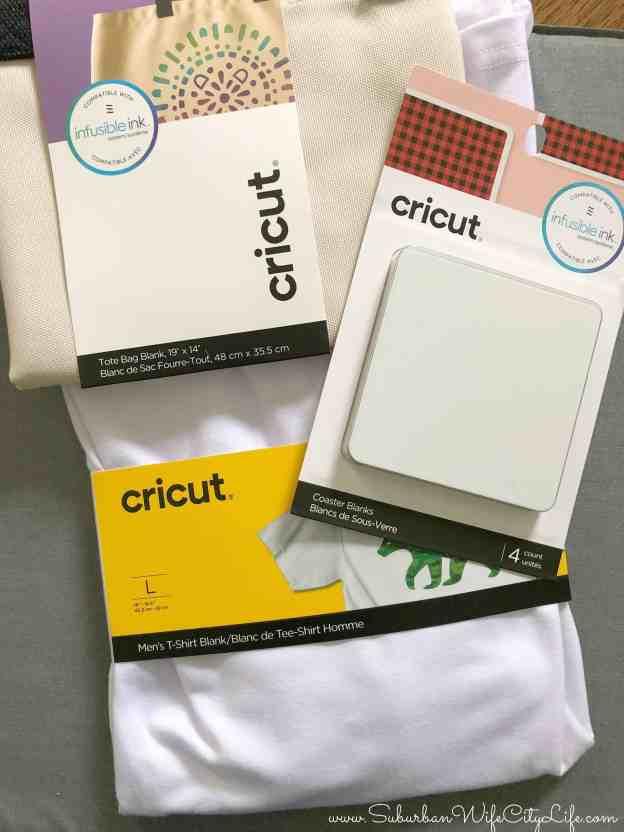 Cricut Infusible Ink Blanks #cricutcreated #infusibleink