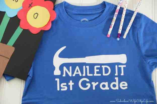 Last Day of 1st Grade shirt
