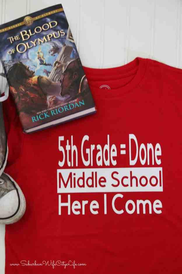 Last Day of 5th Grade Shirt