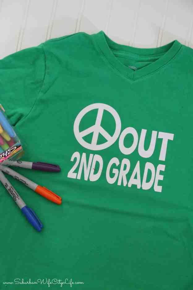 Last day of 2nd grade shirt