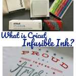 What is Cricut Infusible Ink #cricutcreated #infusibleink