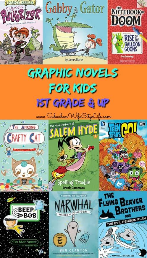 Graphic Novels for 1st Grade