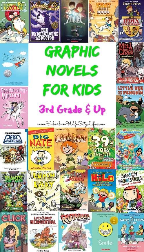Graphic Novels for 3rd Grade