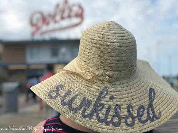 DIY Sunkissed beach hat