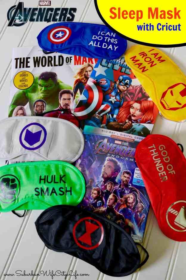 Sleep Mask Avengers