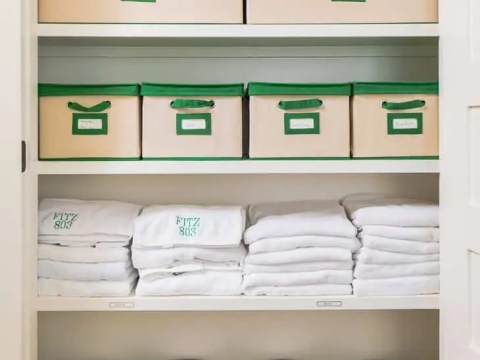 How to Organize Your Linen Closet