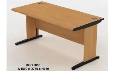HighPoint Meja Kantor / Meja Utama Tanpa Laci HOD 5055