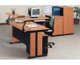 Meja Kantor Uno Gold Series Warna Cherry 2