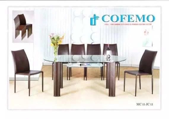 Cofemo Meja 6 Kursi makan type MC 11 JC 11