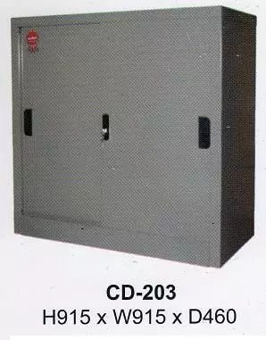 Daiko Lemari File Besi Pintu Sliding type CD 203