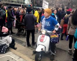 Oakland Women's March 2017 photo by Kat Zigmont.