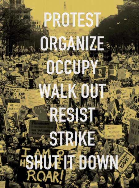 Different kinds of direct action
