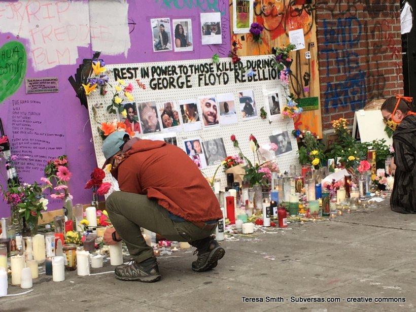 BLM memorial CHAZ
