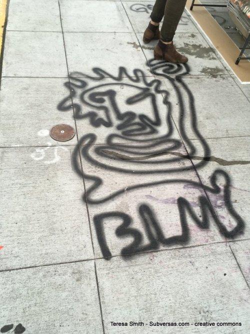 BLM street art