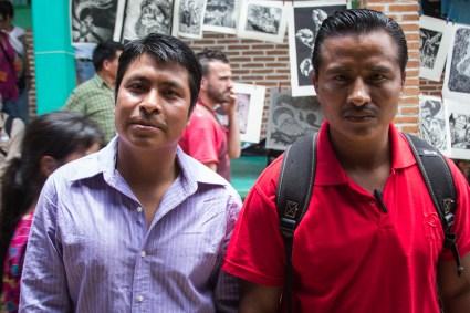 Pedro y Juan, Solidarios de la voz del Amate / Por Heriberto Paredes