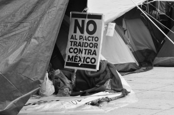 No al pacto traidor contra México. Fotografía: Martina Oliveiro