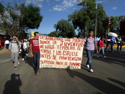 Oaxaca, Oaxaca. Fotografía: Mare Advertencia Lirika