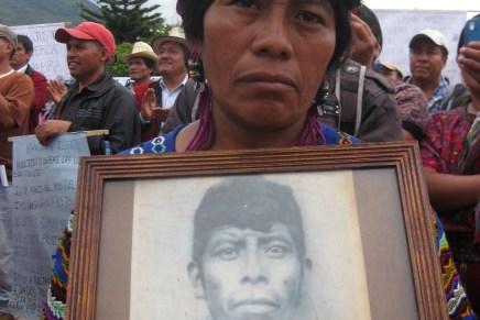 Contra la amnistía y la impunidad en Guatemala