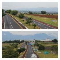 Puntos de conexión en la autopista del sol, de las vías que vienen del norte del estado de Morelos
