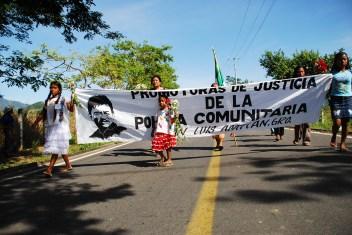 Marcha por la derogación de la Ley 701, CRAC/Foto: Karla H. Mares